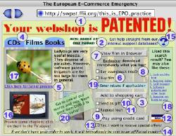 Your webshop is patented!